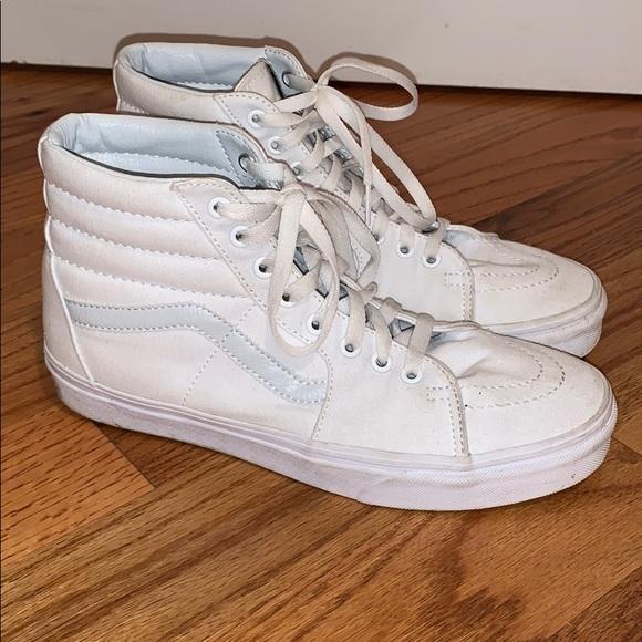 Vans Shoes   Best Price Vans White High